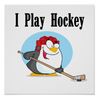 Penguin Hockey Tshirts and Gifts Posters