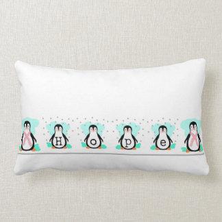Penguin Hope Lumbar Pillow