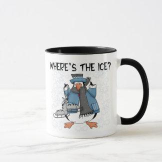 Penguin Ice Skating Mug