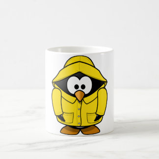 Penguin In A Raincoat Mug