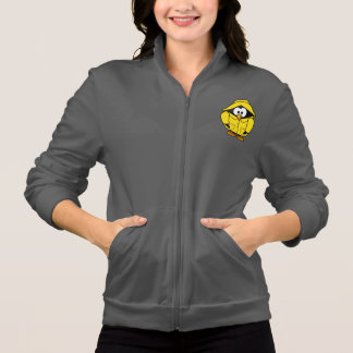 Penguin In A Raincoat Womens Jacket