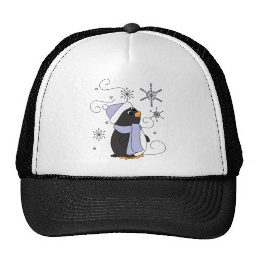 Penguin in Awe Trucker Hat
