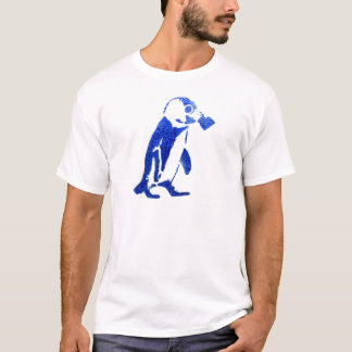 Penguin in Gas Mask T-Shirt