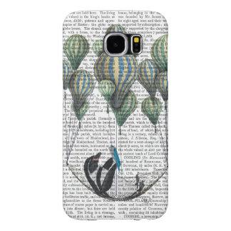 Penguin in Hammock Balloon Samsung Galaxy S6 Cases