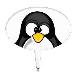 Penguin items cake picks