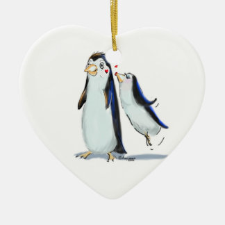 PeNgUiN KiSs Christmas Ornament