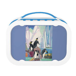 penguin land lunch box