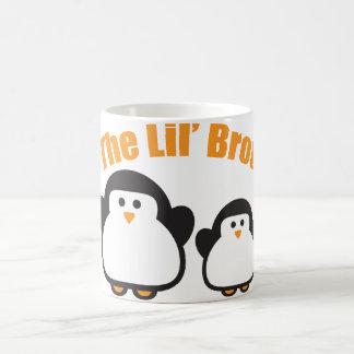 penguin_lil_bro coffee mugs
