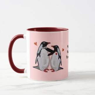 Penguin Love 25th Anniversary Mug