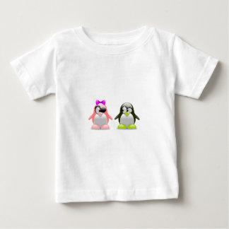 Penguin Love Baby T-Shirt