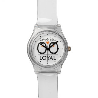 Penguin Love custom watches