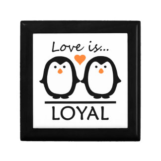 Penguin Love gift box