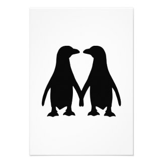 Penguin love invites