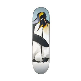 Penguin Love Kisses 20.6 Cm Skateboard Deck