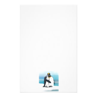 Penguin Love Kisses Stationery