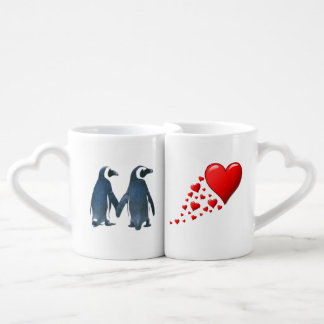 Penguin Love Mug Set