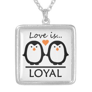 Penguin Love necklace