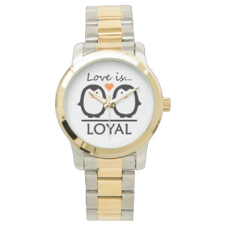 Penguin Love watches