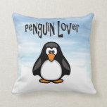 Penguin Lover Pillow