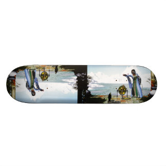 Penguin Magic and the Winter Witch 21.6 Cm Skateboard Deck