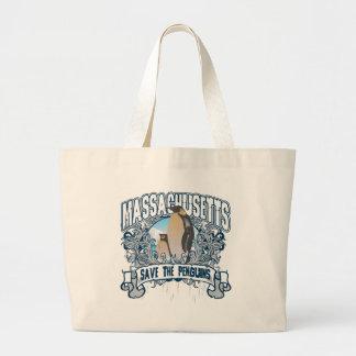 Penguin Massachusetts Large Tote Bag