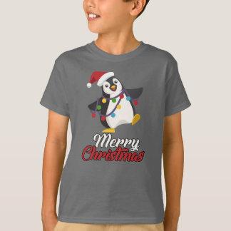 Penguin Merry Christmas T-Shirt