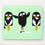 penguin mouse mat
