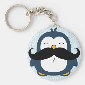 Penguin Moustache Trend
