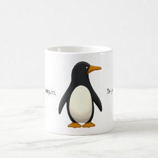 Penguin Basic White Mug