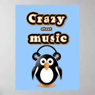 Penguin music fan posters