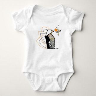 Penguin origami tshirt