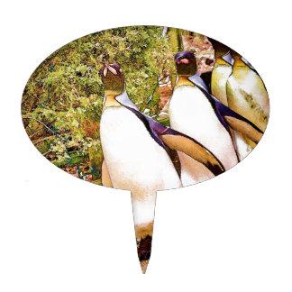 Penguin Parade Cake Pick