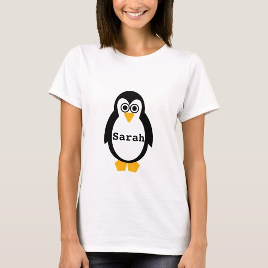 Penguin Party Customisable T-Shirt