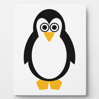 Penguin Party Plaque with Easel