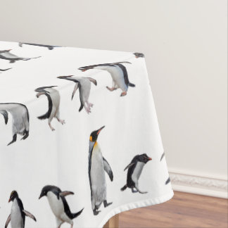 Penguin Party Tablecloth (choose colour)