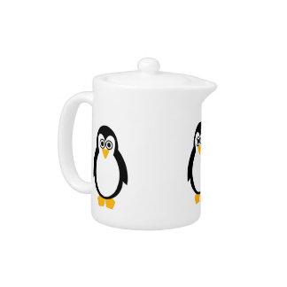 Penguin Party Teapot
