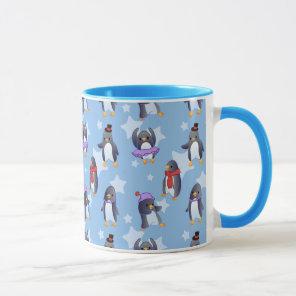 Penguin Pattern Mug