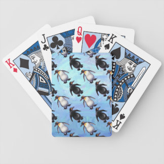 Penguin Patterns Bicycle Playing Cards
