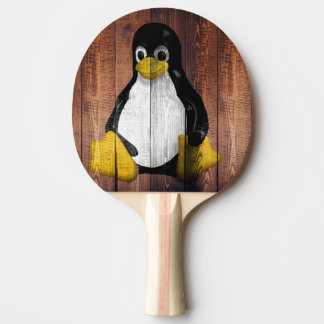 penguin ping pong paddle