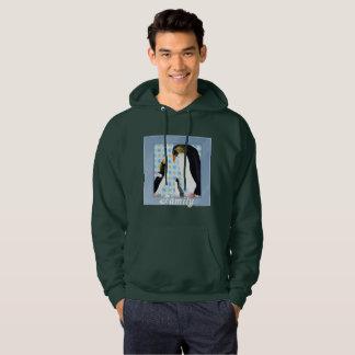 Penguin Portrait Men's Hoodie