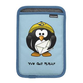 Penguin Postman Blue iPad Mini Vertical Sleeve iPad Mini Sleeves