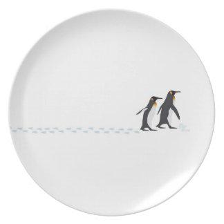 Penguin Prints Plate