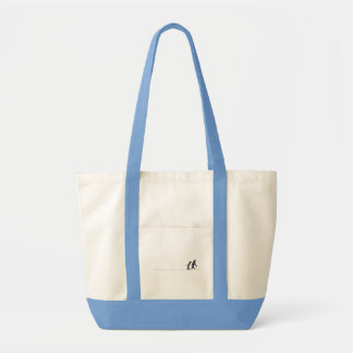 Penguin Prints Tote Bag