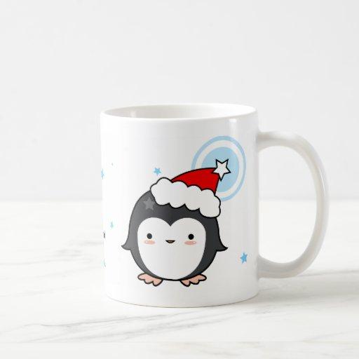 Penguin Puff Christmas Mug (more styles)