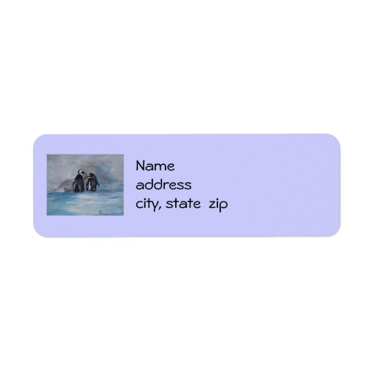 Penguin Return Address Labels