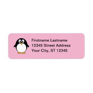Penguin Return Address Return Address Label