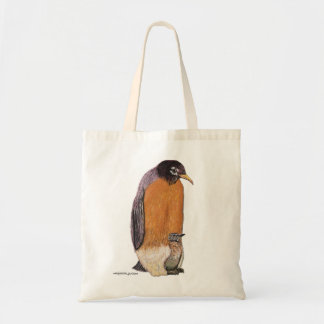 Penguin Robin with Chick Bag