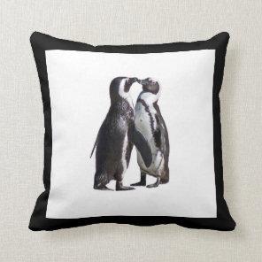 Penguin Romance Cushion