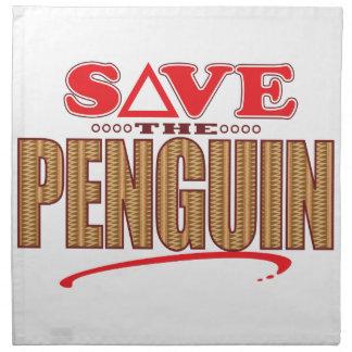 Penguin Save Napkin