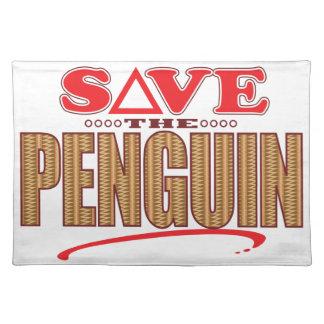 Penguin Save Placemat